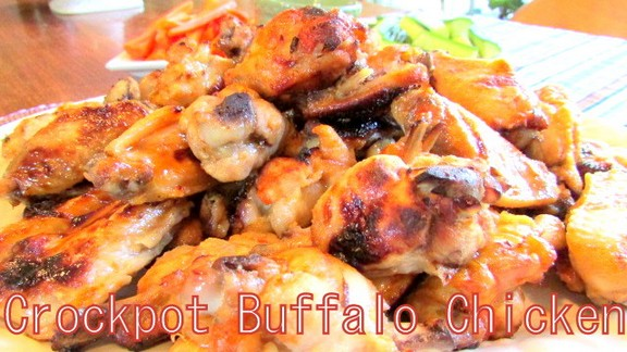 Simple Crock Pot Buffalo Chicken Wings recipe photo
