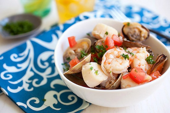 Summer Seafood Stew recipe