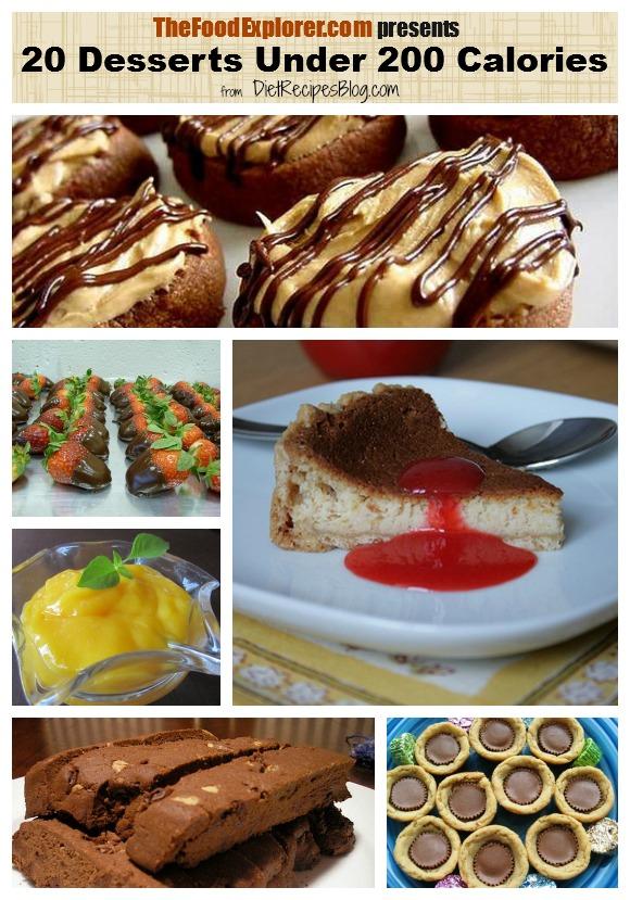 20 desserts under 200 calories