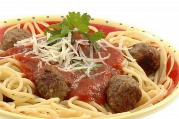 #6 Spaghetti and Meatballs