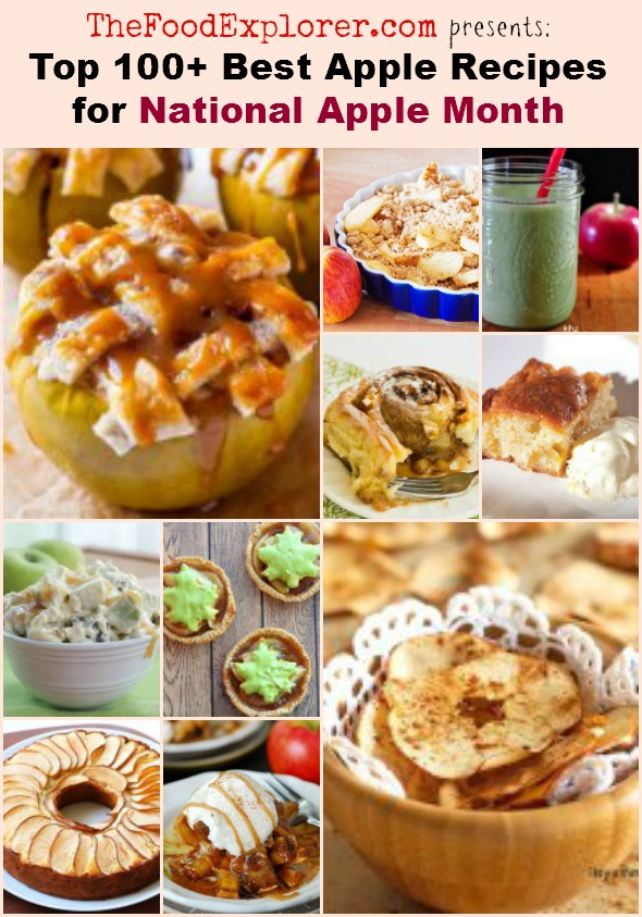 Top 100 Best Apple Recipes of 2014