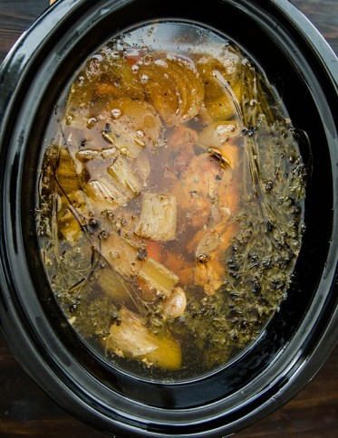 Crock Pot Chicken Broth recipe