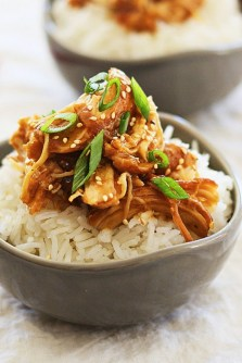 Crock Pot Honey Teriyaki Chicken recipe
