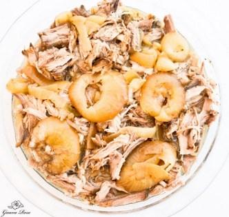 Crock Pot Kalua Pig on a Rack of Onions recipe
