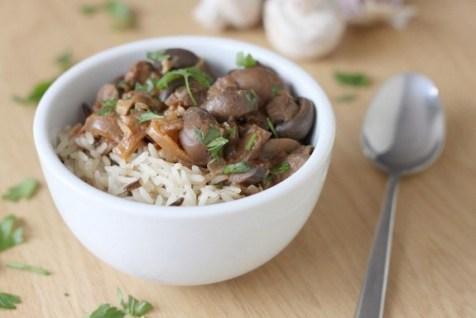 Crock-Pot Mushroom Stroganoff recipe