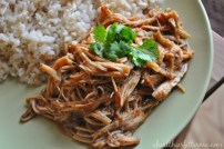 Crock-Pot Pulled BBQ Chicken recipe
