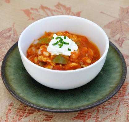 Crock-Pot Pumpkin Chili recipe