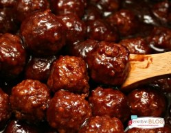 Crockpot BBQ Meatballs recipe
