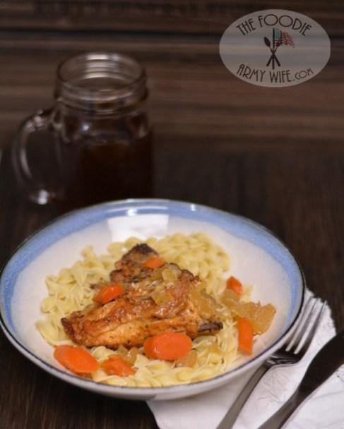 Crockpot Chicken Fricassee recipe