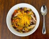 Crockpot Chicken Taco Chili recipe