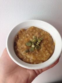 Crockpot Pumpkin Oatmeal recipe