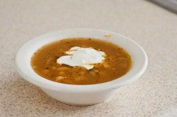 Crockpot Spicy White Bean Chili recipe