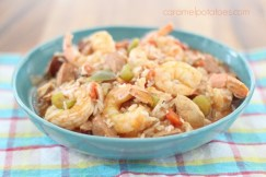 Easy Crock Pot Jumbalaya recipe