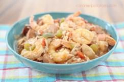 Easy Crock Pot Jumbalaya recipe