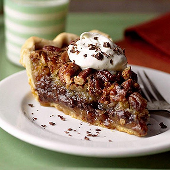 Millionaires Chocolate Pecan Pie by Midwest Living