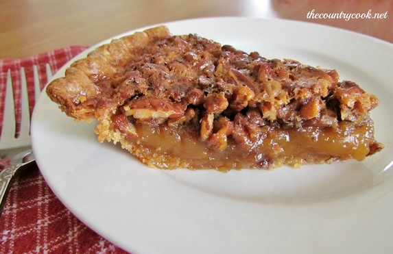 Southern Pecan Pie by The Country Cook