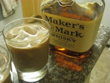 Bourbon Pecan Milk Punch from Law & Libations