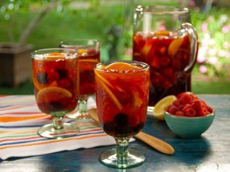 California Rose Punch from Food Network