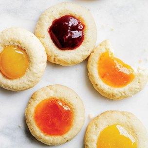 Cardamom Thumbprint Cookies by Delish