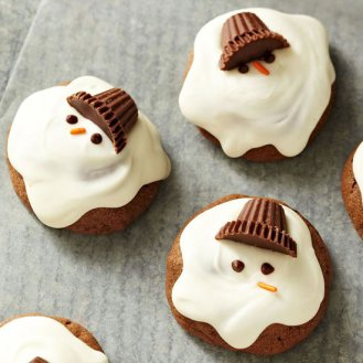 Chocolaty Melting Snowmen by Better Homes and Gardens