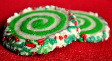 Colorful Slice and Bake Swirl Cookies recipe by Tasty Kitchen