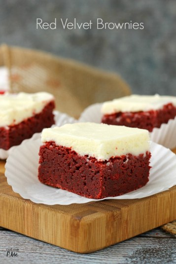 Outrageous Red Velvet Brownies by Call Me PMc