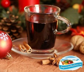 Traditional Swedish Glogg from Easy Christmas Recipes
