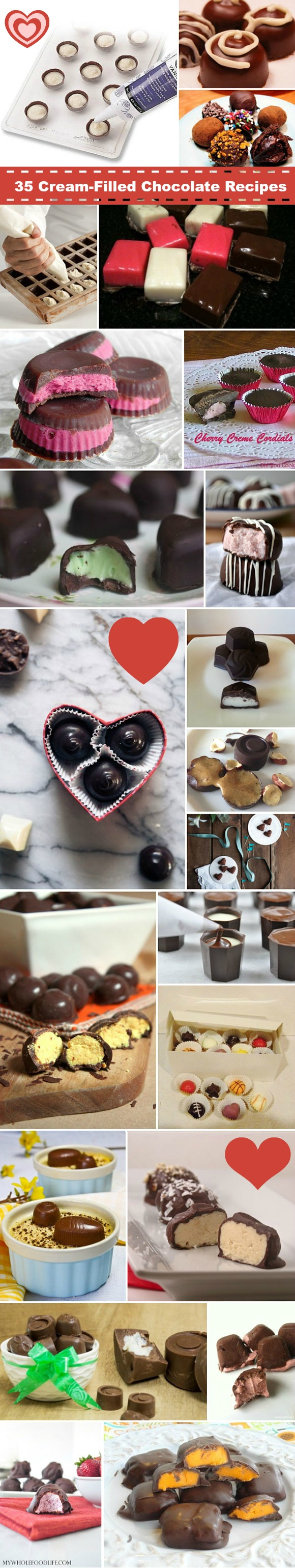 February 14th is National Cream-Filled Chocolates Day – Best 35 Recipes