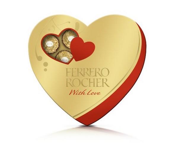 Ferrero Rocher heart, 16 Count