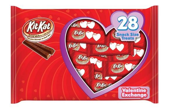 Kit Kat Valentines Snack Size Exchange Bag, 13.72 Ounce