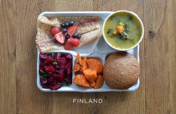School Lunches Around the World - Finland