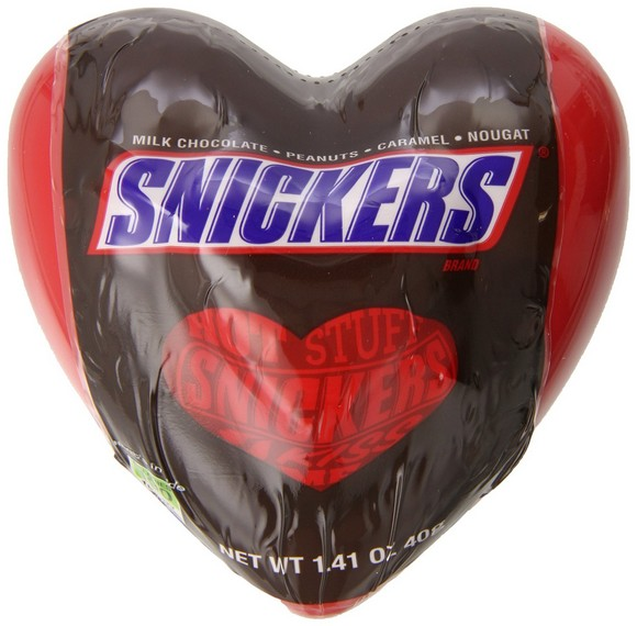 Snickers Minis Filled Heart, 12 Count