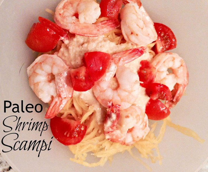 Paleo shrimp scampi recipe
