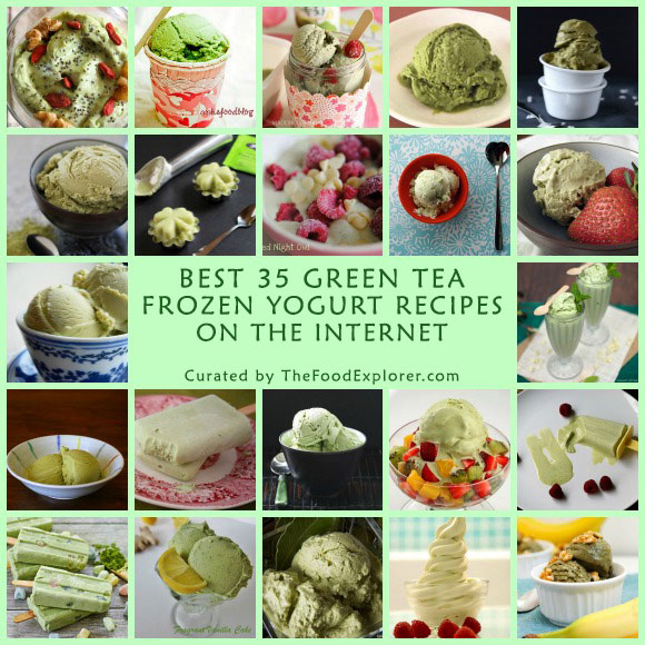Best 35 Green Tea Frozen Yogurt Recipes on the Internet