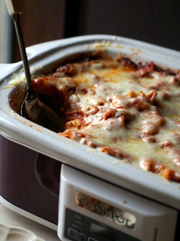 Slow Cooker Baked Ziti