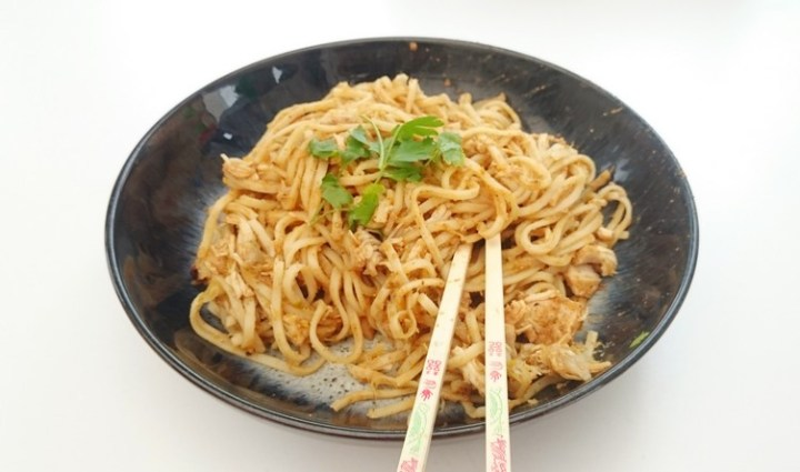 Slow Cooker Chinese Chicken Noodles