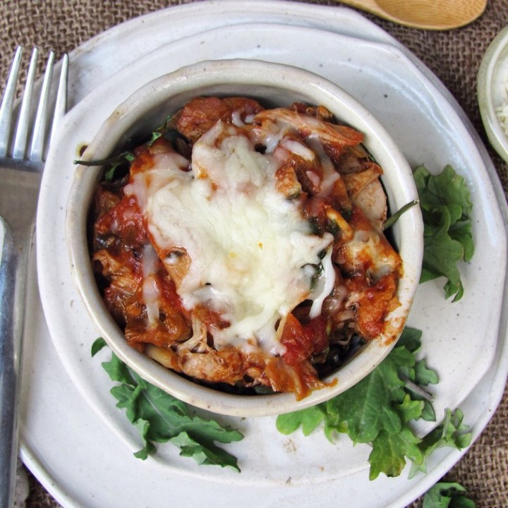 Slow Cooker 'Pizza' Pulled Turkey