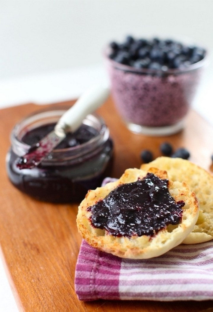 Blueberry-Plum Butter (in the slow-cooker)