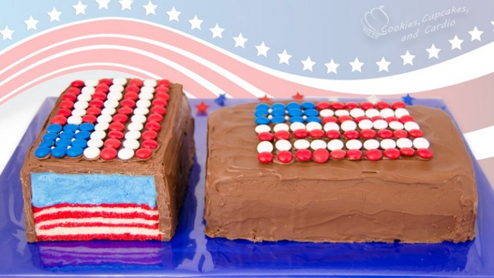 Giant American Flag Candy Bar