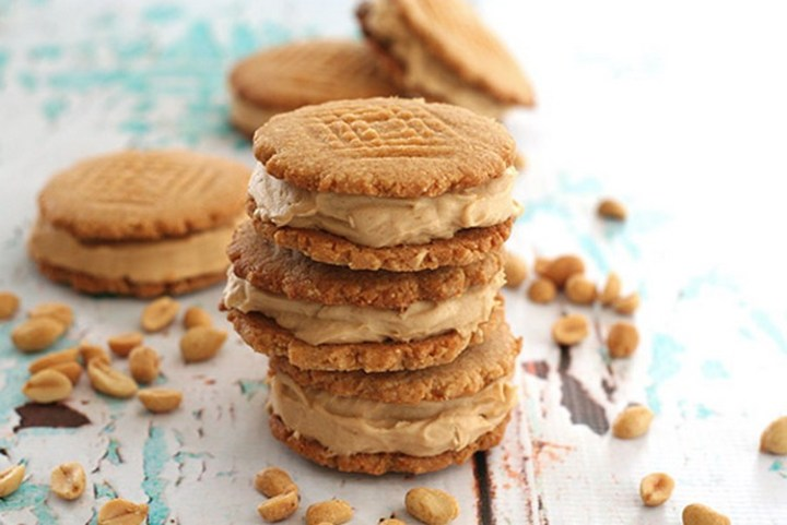 Low Carb Peanut Butter Ice Cream Sandwiches