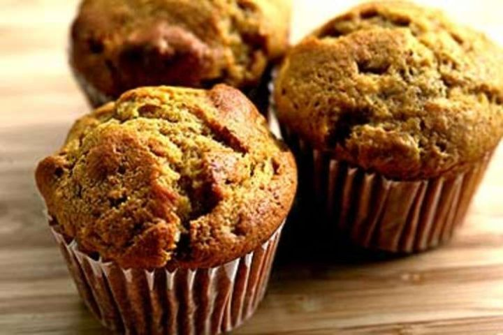 Pumpkin Ginger Nut Muffins Recipe