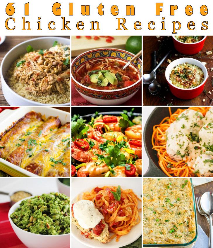 Free Recipes For Chicken: 61 Gluten-Free Chicken Recipes