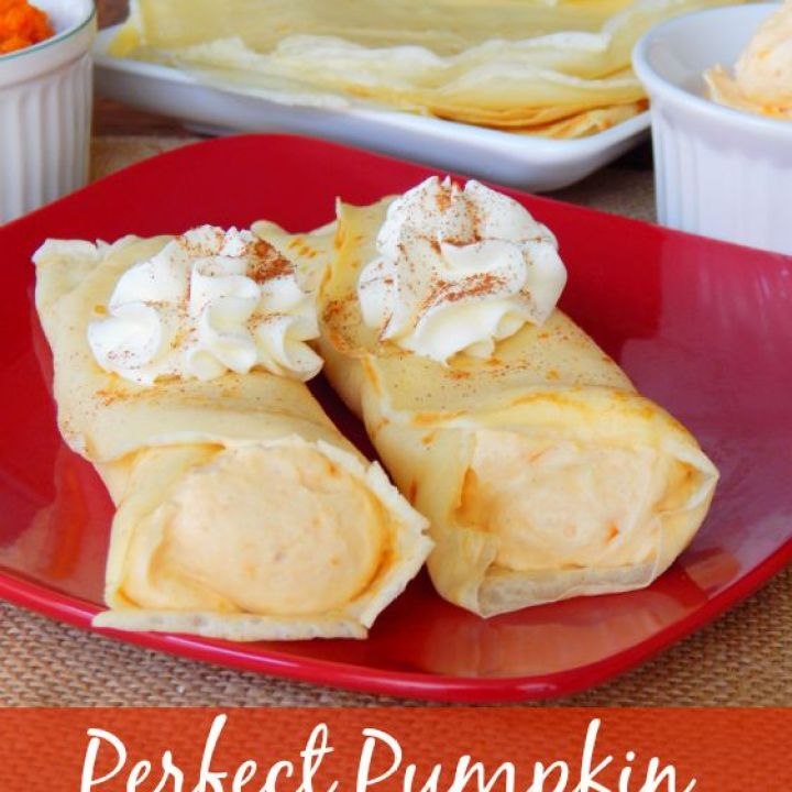 Perfect Pumpkin Crepes Recipe
