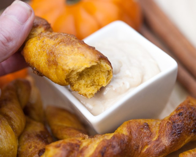 Pumpkin Pretzel Recipe