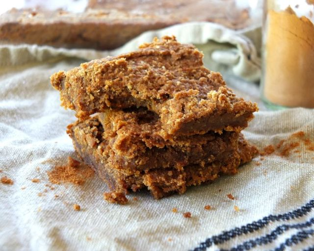 Paleo Pumpkin Bars (AIP, Vegan)