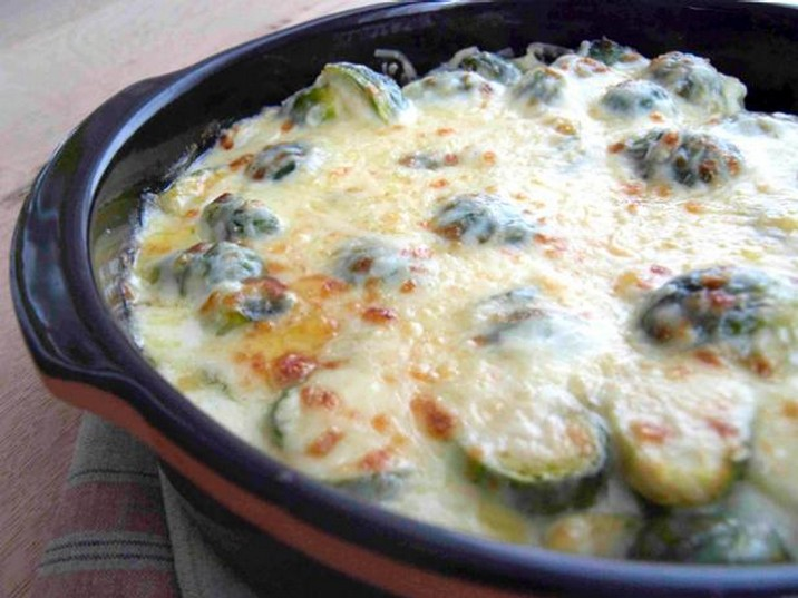 Brussels Sprout Gratin Recipe