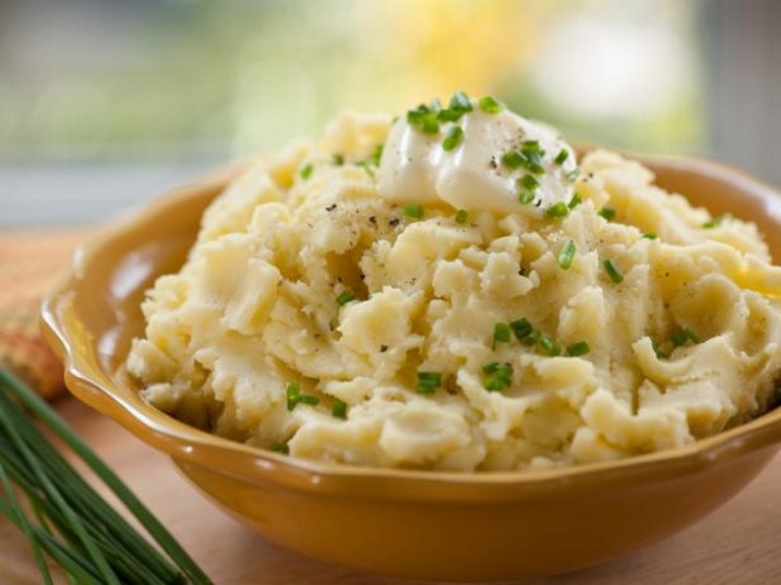 Chive and Garlic Mashed Potatoes Recipe