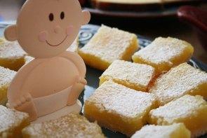 Creamy Lemon Bars recipe (106 calories)