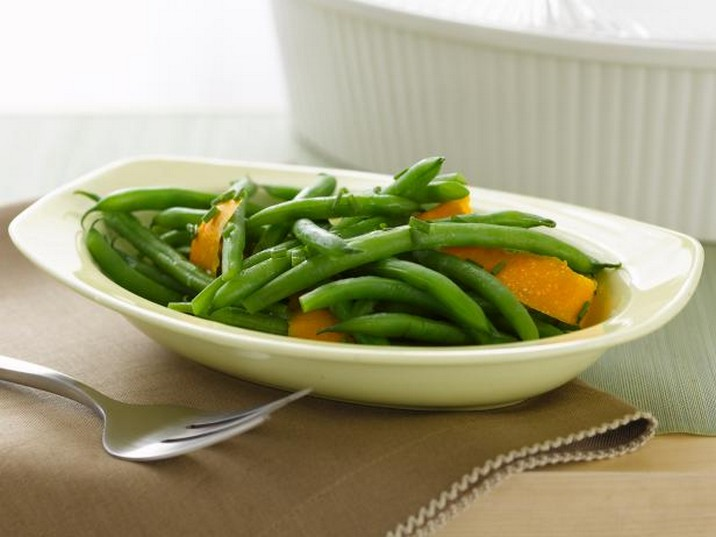 Rachael's Easy Orange-Scented Green Beans Recipe