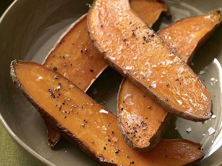 Roasted Sweet Potatoes with Aioli Recipe